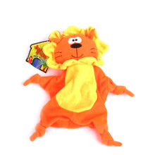 Plush Lion Jungle-Tie Dog Toy With Squeaker