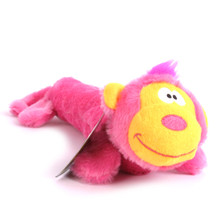 Plush Monkey Squeaker Dog Toy