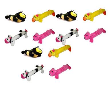 Plush Squeaker 12-Toy Value Pack