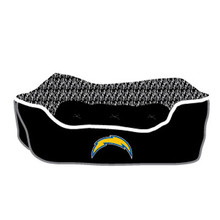 San Diego Chargers NFL Football NESTING Pet Bed