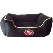 San Francisco 49ers NFL Football NESTING Pet Bed