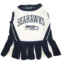 Seattle Seahawks NFL Football Pet Cheerleader Outfit