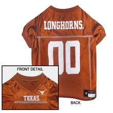 Texas Longhorns Football Pet Jersey