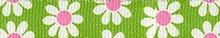 Green Daisy Waist Walker