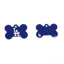 LA Dodgers Pet ID Tag - With Engraving