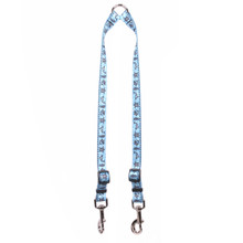 Tribal Seas Blue Coupler Dog Leash
