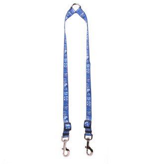 Tiki Blue Coupler Dog Leash