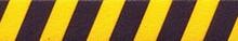 Team Spirit Yellow and Black Coupler Dog Leash