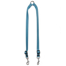 Solid Teal Coupler Dog Leash