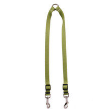 Solid Olive Coupler Dog Leash