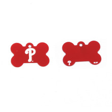 Philadelphia Phillies Pet ID Tag - With Engraving