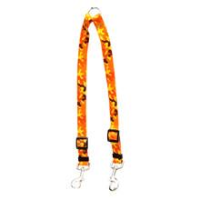 Orange Camo Coupler Dog Leash