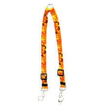 Orange Camo Coupler Dog Leash