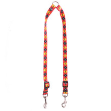 Mustaches With Argyle Coupler Dog Leash