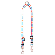Madras Blue Coupler Dog Leash