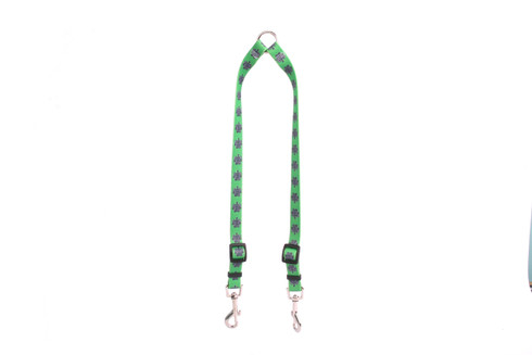 Knotted Shamrock Coupler Dog Leash