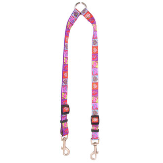 Crazy Hearts Coupler Dog Leash