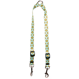 Cleo Blue Coupler Dog Leash