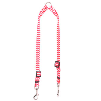 Chevron - Strawberry Coupler Dog Leash