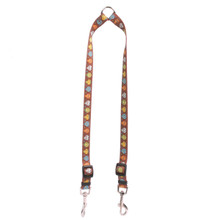 Candy Skulls Coupler Dog Leash