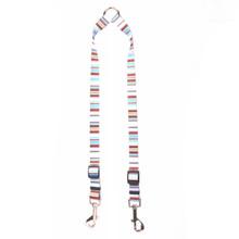Brown Stripes Coupler Dog Leash