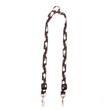 Brown Paisley Coupler Dog Leash