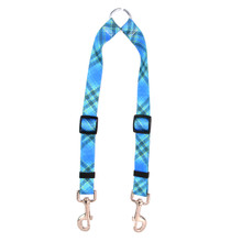 Blue Kilt Coupler Dog Leash