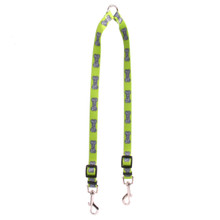 Bella Bone Green Coupler Dog Leash