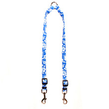 Aloha Blue Coupler Dog Leash