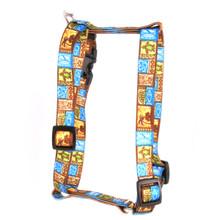 "Tiki Print Roman Style ""H"" Dog Harness"