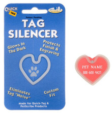 Sports Tag Silencer - Heart