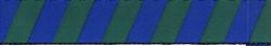 "Team Spirit Blue and Green Roman Style ""H"" Dog Harness"