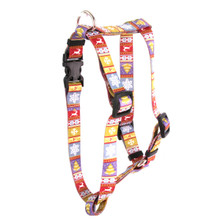 "Ski Sweater Roman Style ""H"" Dog Harness"