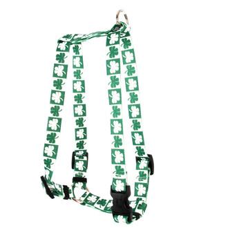 "Shamrock Roman Style ""H"" Dog Harness"