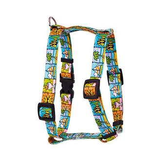 "Seaside Roman Style ""H"" Dog Harness"