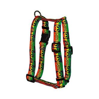 "Rasta Roman Style ""H"" Dog Harness"