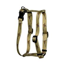 "Pheasants Roman Style ""H"" Dog Harness"