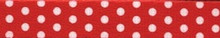 """New Red Polka Dot Roman Style """"H"""" Dog Harness"""