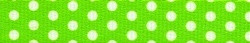 "New Green Polka Dot Roman Style ""H"" Dog Harness"