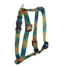 "Green Kilt Roman Style ""H"" Dog Harness"