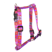 "Crazy Hearts Roman Style ""H"" Dog Harness"