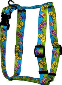 "Butterflies Roman Style ""H"" Dog Harness"