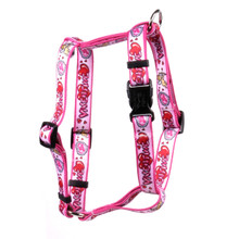 "Be My Valentine Roman Style ""H"" Dog Harness"
