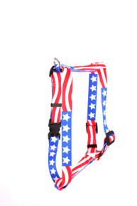 "Americana Roman Style ""H"" Dog Harness"
