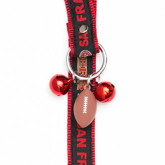 San Francisco 49ers Pet Potty Training Bells