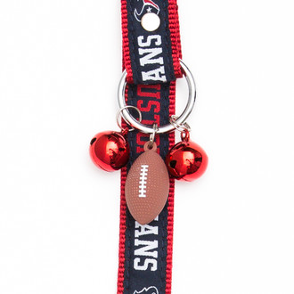 Houston Texans Pet Potty Training Bells