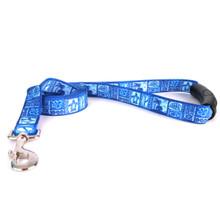 Tiki Blue EZ-Grip Dog Leash