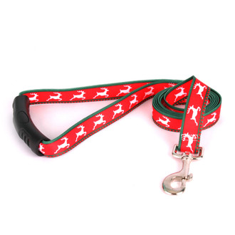 Reindeer Print EZ-Grip Dog Leash