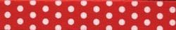 New Red Polka Dot EZ-Grip Dog Leash