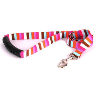 Multi-Stripe EZ-Grip Dog Leash